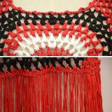 Chandail de collecte de chemise de circuit de bord de frange de Boho de femmes