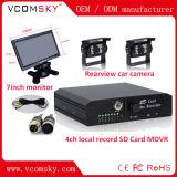 Kanal-Fahrzeug-Videogerät Ableiter-128g mobiles DVR 4
