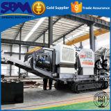 El mejor precio grande de calidad Barita planta móvil de trituración