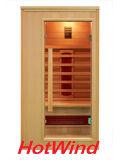 Salle de sauna infrarouge lointain luxueux de luxe de 2016 pour 1 personne (SEK-AP1)