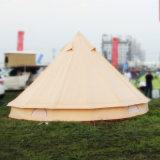 tenda di Bell esterna della tela di canapa di 5m Glamping da vendere