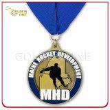 경쟁 금속 관례 3D에 의하여 조각되는 달리기 포상 메달