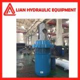 Cilindro hidráulico industrial personalizado do elevado desempenho para o projeto da tutela da água