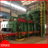 High Effeciency Tunnel Grit Shot Blasting Machine pour Steel Strip