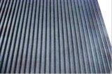 Anti nattes en caoutchouc ondulées très bien nervurées de feuille de glissade