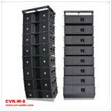 Verdoppeln eine 12 Inch-Zeile Reihen-Lautsprecherguangzhou-Fachmann-Fabrik