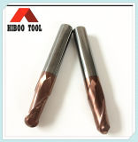 2 flutes Altin Coating Ball Nose End Mills