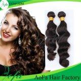 Волосы Remy девственницы оптовых Unprocessed индийских волос волны людские