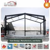 ガラス壁が付いているカスタマイズされた組合せのマルチ側面のテント