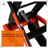 Ciseaux de double de capacité de charge de la table élévatrice de ventes directes d'usine 500kg