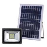 높은 광도 옥외 20W LED 태양 플러드 빛