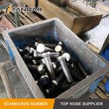 英国工業規格の女性糸の油圧ゴム製ホースフィッティング