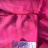 Cor cor-de-rosa absorvente e toalha de secagem rápida com saco líquido