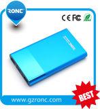 Batería móvil grande de la potencia de la capacidad 8000mAh para Smartphone