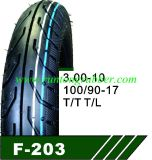 100/90-17 Motorrad-Reifen mit innerem Gefäß