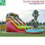 販売(DJWSMD8000013)のための巨大で膨脹可能な水スライド商業水スライド