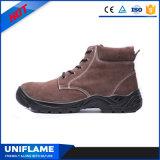 Chaussures statiques en acier Ufb028 de sûreté du chapeau S1 de tep anti