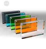Blocco per grafici acrilico foto/di Photofunia, cornice magnetica acrilica