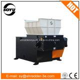 Máquina plástica de la desfibradora de la trituradora de los solos ejes