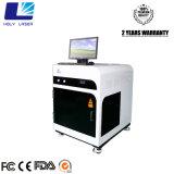 machine de gravure à fleur de terre en verre portative de laser en cristal du cadeau 3D