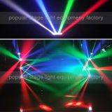 8PCS*10W RGBW 4in1 LED Mini Spider Beam Moving Head Light