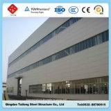 강철 구조물 프레임 샌드위치 위원회 Prefabricated 건물 창고