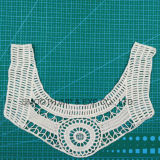 Mode Tissu de coton à broder les dentelles au crochet Collier Vêtements Accessoires de décoration