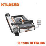Máquina de estaca redonda do laser da fibra do CNC do perfil da câmara de ar do quadrado da tubulação para a fabricação de aço