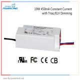 5 ans de garantie 19W 450mA Constant Triac Current / Elv Dimmable LED Driver
