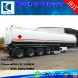 半燃料のタンカーのトレーラー40000Lのガソリン交通機関の石油タンカー