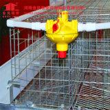 Cage Breeding de couche de batterie de machines de ferme de poulet galvanisé à chaud avec le matériel automatique