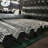 建築材ASTM A53のスケジュール40は鋼管、GIの高品質の鋼鉄管のZnのコーティング60-400/M2に電流を通した