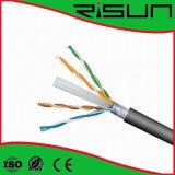Высокое качество и самый лучший кабель LAN кабеля FTP CAT6 цены 23AWG