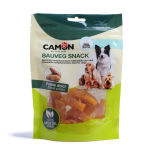 L'imballaggio personalizzato dell'alimento per animali domestici si leva in piedi in su il sacchetto con la chiusura lampo e la finestra libera