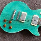 밝은 초록색에 있는 단단한 나무 Lp 작풍 일렉트릭 기타 (GLP-509)