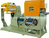 Alimentador automático CNC de servo de línea de prensa con enderezadora