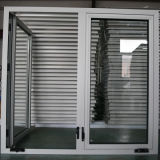 Het Openslaand raam van het aluminium met het Handvat van de Rol, Openslaand raam K03061