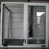 Janela de batente de alumínio com alça de rolo, janela de batente K03061