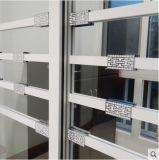 広い見解およびニースパターンが付いている美しいガラスドア