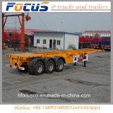 China 3 de Semi Aanhangwagen van het Skelet van Assen 40FT voor Verkoop