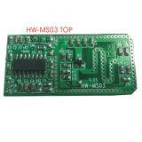 Módulo del sensor de movimiento con microondas para el sensor de luz LED (HW-MS03)