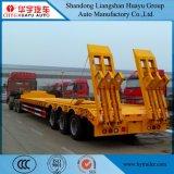 betten ausdehnbarer niedriger Junge 80ton/niedrig LKW-halb Schlussteil für Exkavator/Technik-Fahrzeug/Aufbau/Maschinerie-Transport