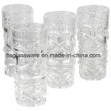Vaso di vetro di Tiki, vaso di vetro della decorazione domestica, vaso di vetro del fiore della Tabella