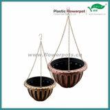 Potenciômetro de flores de plantador pendurado (KD7024S-KD7025S)