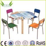 아이들 가구 다채로운 학교 Kidstable 및 의자 (KF-05)