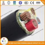 PVC стального провода 3 проводников сердечника мягкий медный изолированный PVC бронированный обшил 1, 9/3, 3 Kv Sans стандартный стандарт кабеля SABS