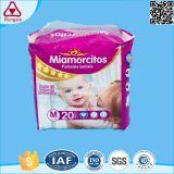 Super Hot Vente de matériel de pâte en flocons jetables d'absorption des couches pour bébé