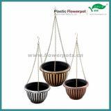 プラスチックハングの植木鉢(KD7011S-KD7012S)