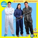 Fabricant de housses jetables Combinaisons de prix les moins chers / Vêtements de travail / Combinaison de saut / Robe de peinture