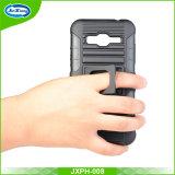 Caja del teléfono móvil de TPU + Plastic para Samsung J320 / J3